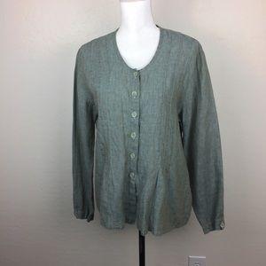 Flax linen blouse